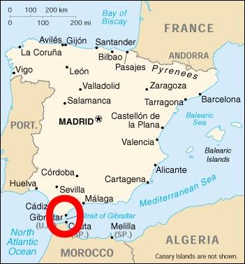 Gibraltar Sehenswurdigkeiten Karte.Karte Gibraltar Spanien Hanzeontwerpfabriek